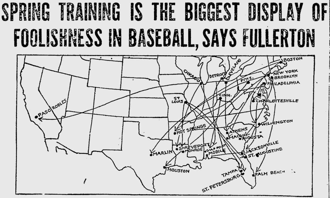 Spring Training 1914