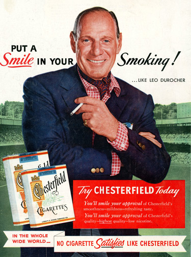 Cigarette Ads 2012 Of tobacco advertising: